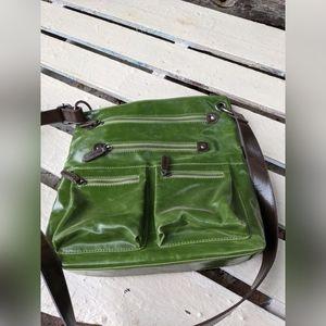 Green Shiraleah crossbody purse